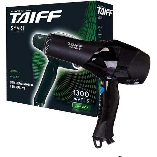 Secador de Cabelo Taiff Profissional 1700W Black