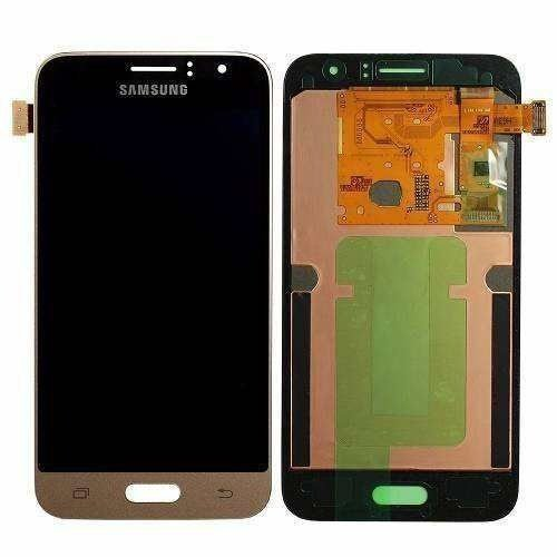 TELA TOUCH DISPLAY SAMSUNG J1 2016 SM-J120H/DS AJUSTA BRILHO