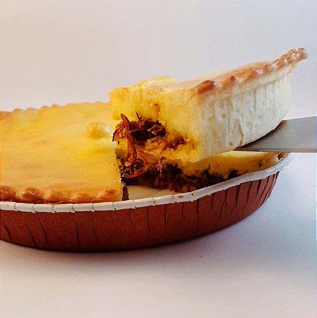 Carne seca, abóbora e requeijão - Torta Maria Bonita - Média - (500g)