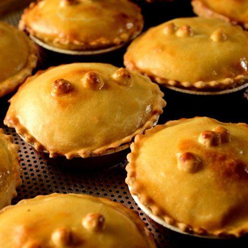 Frango, milho, cenoura e requeijão - Torta Caipira - Individual - (200g)