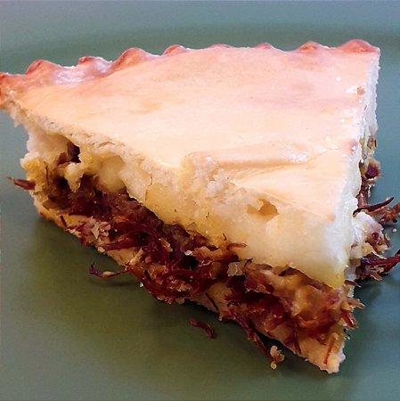 Carne seca, abóbora e requeijão - Torta Maria Bonita - Individual - (200g)