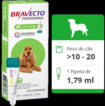 BRAVECTO CÃO - 10 a 20Kg
