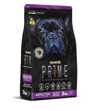Prime Raças Peq. ADULTO 3KG