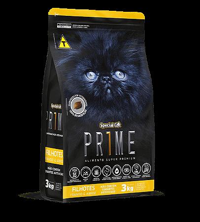 Prime Cat Filhotes Frango e Arroz 3Kg
