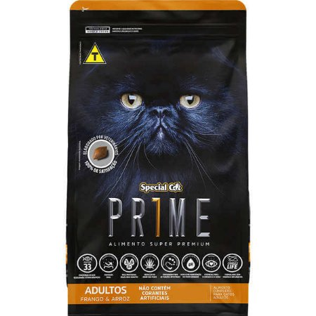 Prime Cat Adulto Frango/Arroz 1Kg