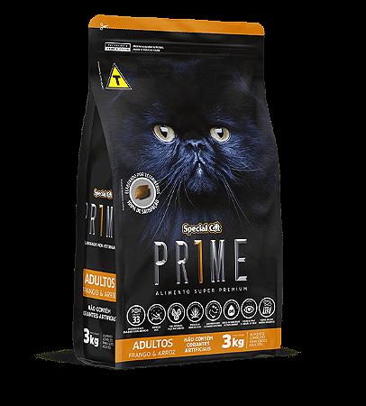 Prime Cat Adulto Frango e Arroz 3Kg