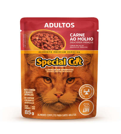 Special Cat Sache Adulto Carne