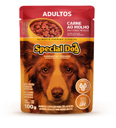 Special Dog Sache Adulto Carne