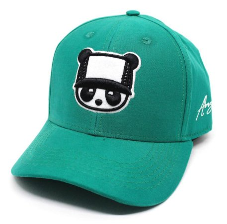 Boné Abaz Aba Curva - Panda - Verde