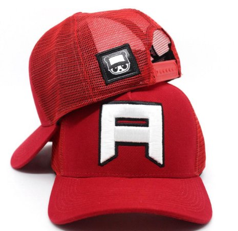 Boné Abaz Trucker - A SQUARE RED