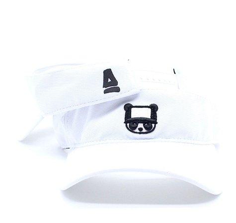 Viseira Abaz - Panda Branca
