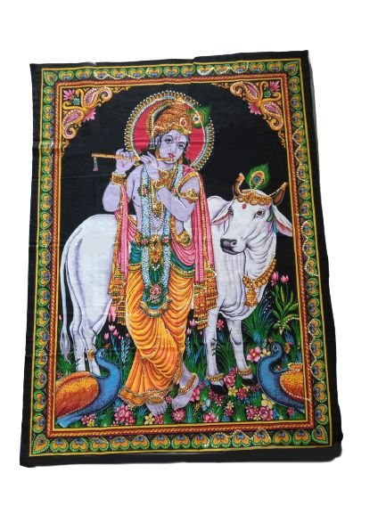 painel decorativo krishna
