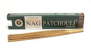 incenso indiano de massala Nag Patchouli