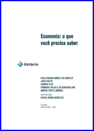 Apostila Estácio - Fundamentos de Economia