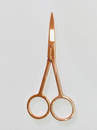 Tesourinha para sobrancelhas - Cor cobre
