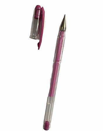 Caneta Gel para marcação de Sobrancelhas - rosa