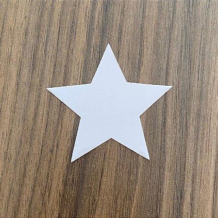 Molde para depilação dos pelos - 10 und (estrela)