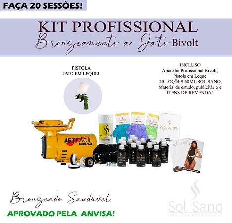 Kit Profissional para Bronzeamento a Jato (BIVOLT)