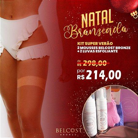 Kit Super Verão Belcost Bronze