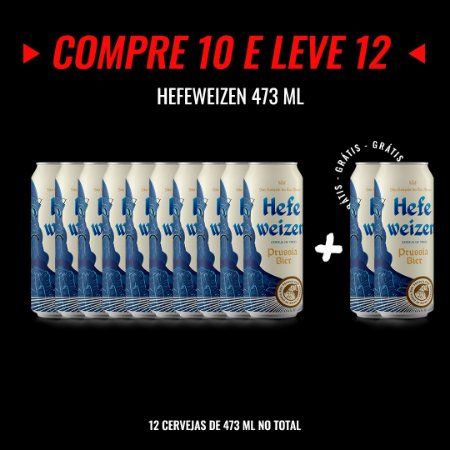 Semana Insana: Compre 10, Leve12! Hefeweizen Lata 473ml