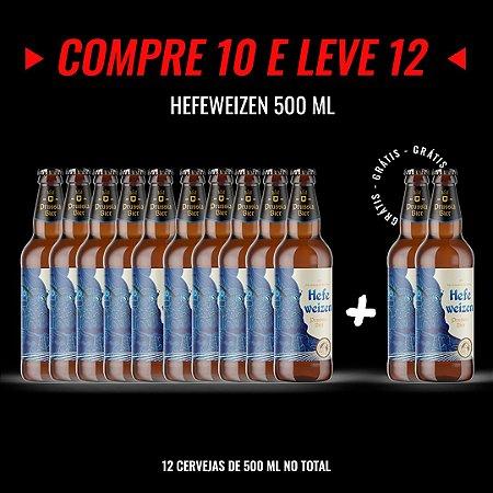 Semana Insana: Compre 10, Leve 12! Hefeweizen (trigo) Garrafa 500ml