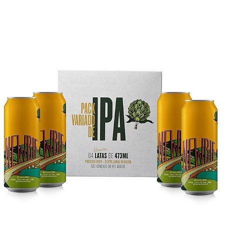 Pack de IPAs - (Quatro Newbies) - New England IPA