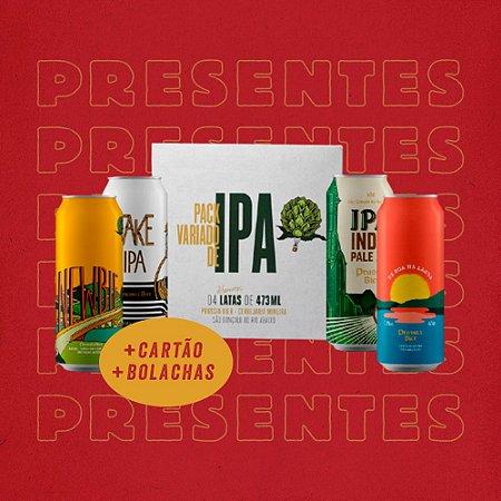 Kit presente: 4Pack de IPAs