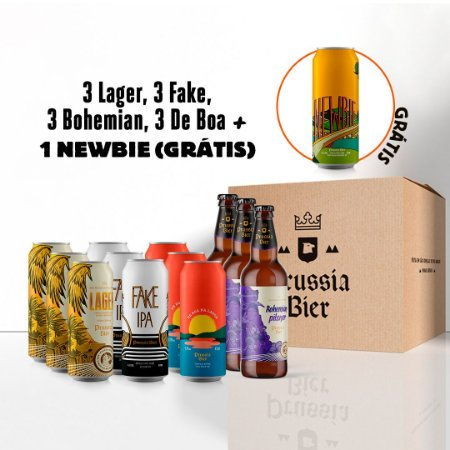 Kit Verão : 12 cervejas refrescantes + 1 Newbie (Grátis)