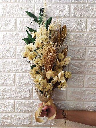 Buquê Mix de Flores Secas (PEÇA ÚNICA) cod B003