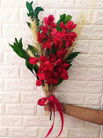 Buquê Mix de Flores Secas (PEÇA ÚNICA) cod B005