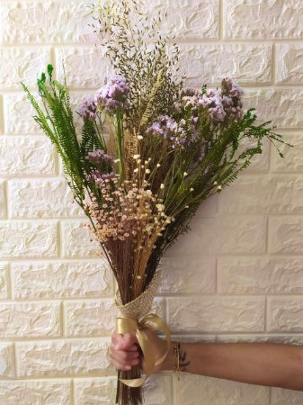 Buquê Mix de Flores Secas (PEÇA ÚNICA) cod B006