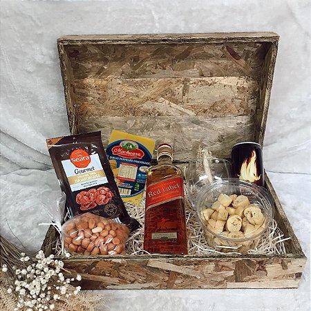 Caixa Whisky Energético e Petiscos  cod CA017