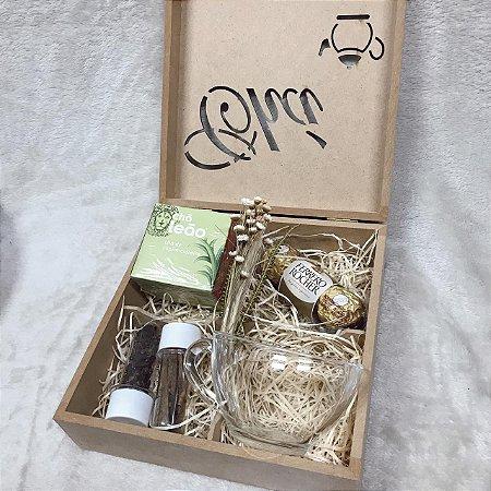 Caixa Chá com Ferrero e Especiarias  Cházinho com Requinte cod CA043