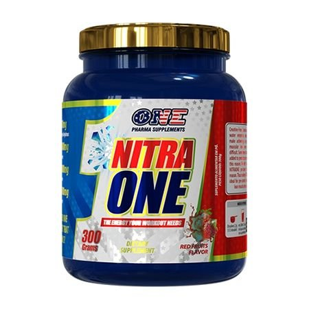 Nitra One - 300g Red Fruits Flavor - One Pharma Supplements