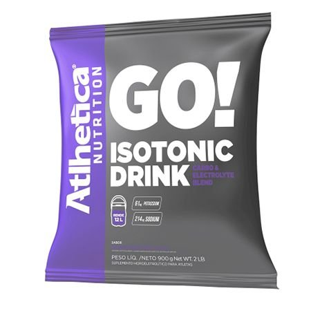 GO! Isotonic Drink (900g) - Atlhetica Nutrition