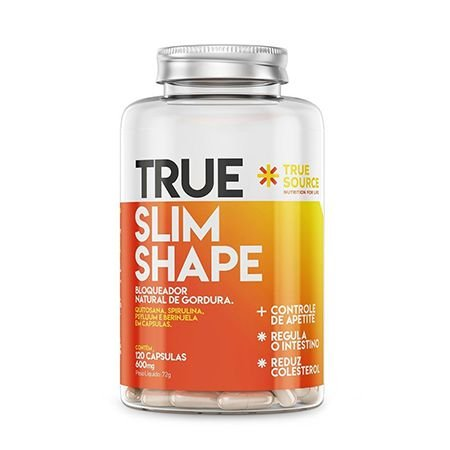 SLIM SHAPE  - 120 CÁPSULAS - TRUE SOURCE