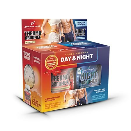 COMBO SECA ABDOMEN DAY AND NIGHT BODY ACTION