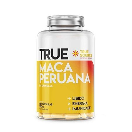 MACA PERUANA PLUS 1000MG - 60 COMPRIMIDOS- TRUE SOURCE