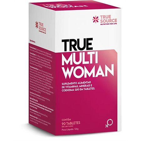 MULTIVITAMÍNICO TRUE MULTI WOMAN TRUE SOURCE 90 TABLETES