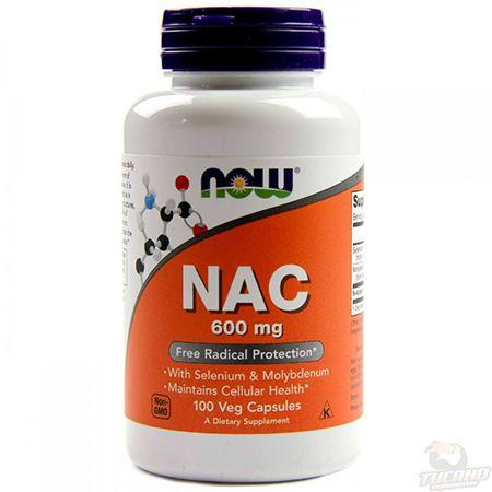 NAC 600mg - 100 cap (N ACETIL L CISTEINA)