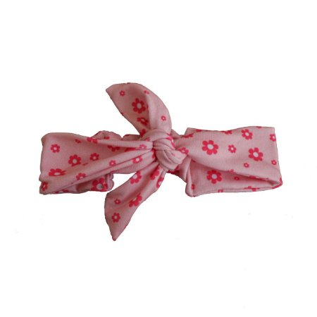 Faixa De Cabelo - Rosa Bebê Florzinhas