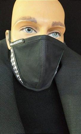 Máscara Masculina de Proteção De Tecido Reutilizável Lavável