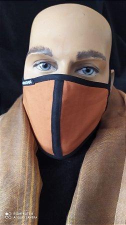 Terracota Line - Máscara de Proteção De Tecido Reutilizável Lavável