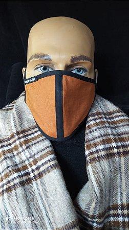 Terracota Line- Máscara De Tecido Reutilizável Lavável