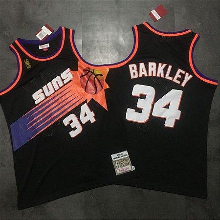 Camisas Phoenix Suns Hardwood Classics M&N - 34 Charles Barkley, 13 Steve Nash
