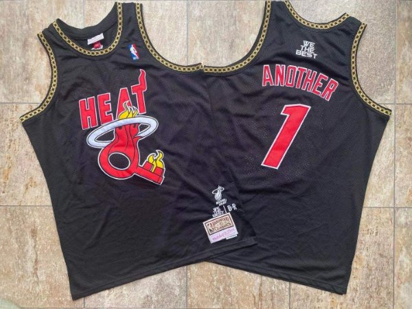 "Camisa de Basquete Especial Miami Heat x DJ KHALED ""Another 1"", Hardwood Classics, colab NBAxBRxMN"