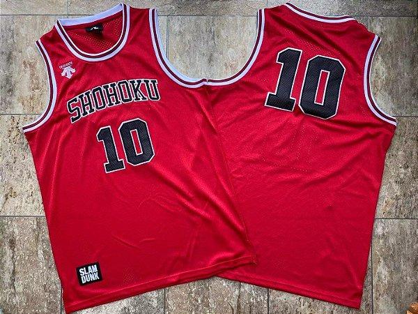 Camisa de Basquete Slam Dunk Shohoku