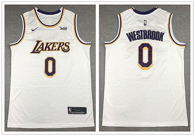 Camisas de Basquete Los Angeles Lakers - 0 Westbrook