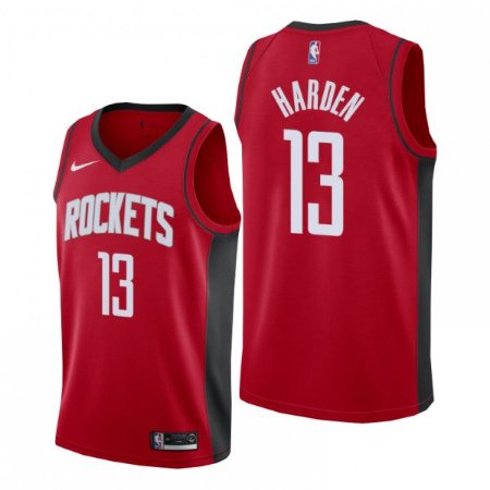 Camisa Houston Rockets - 13 James Harden - 0 Russell Westbrook