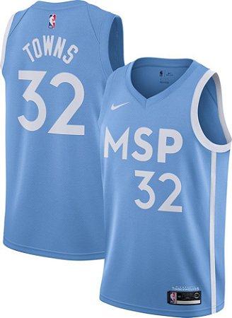 Camisa Minnesota Timberwolves - 32 Karl-Anthony Towns